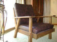 Brandt ranch oak arm chair collectible vintage 1900~ Please see description