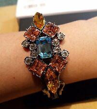 Mawi London SCALETTA Catena Bracciale con cristallo pietre preziose