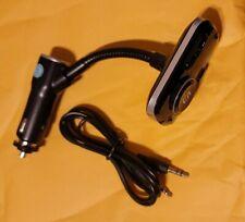 AGPtek Bluetooth FM Transmitter Adapter car kit with Dual  USB Car Charger