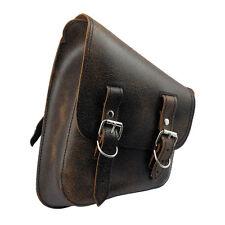 Sac de selle mkejcm cuir harley - DAVIDSON SOFTAIL Cadre Etoiles Marron antique