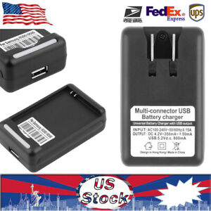 BATTERY DESKTOP CHARGER TRAVEL For SAMSUNG GALAXY S3 I9300 I9500 DOCK WALL USB