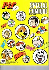 PIF POCHE HORS SERIE SPECIALCOMIQUE EDITIONS VAILLANT JUIN 1981 GRAND FORMAT