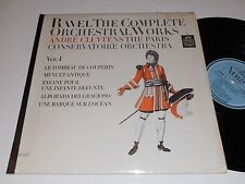 RAVEL NM Cluytens Paris Orchestra Complete Orchestral works Vol. 4 Thevet Casier