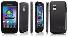 Samsung Galaxy S Fascinate SCH-I500 - Black (Verizon) Smartphone