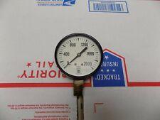Vintage Us Gauge 2 12 19921 1 White Face 0 2000 Lb Pressure Gauge Steampunk