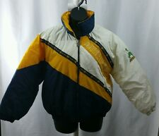 Vintage NOTRE DAME Fighting Irish ND Phenom Jacket Coat XL Rollaway Hood