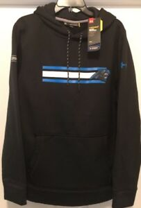 Under Armour Men's NFL Combine Carolina Panthers Storm Hoodie 1288440 Large NWT