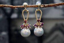 HANDMADE! Genuine Pearl Earrings 20260