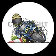 Koolart 4x4 4 x 4 Spare Wheel Graphic Yamaha V Rossi Moto Gp Sticker 3223