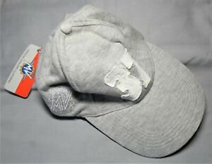 """Genuine MV Agusta F4 Cotton Peaked Cap Grey with White Embroidered Emblem """"37"""""""