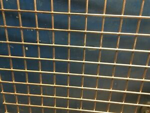 """Welded wire mesh panels / 1""""x 1"""" x 3mm ( choose size )"""