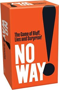 No Way Quiz Card Game - Cheatwell Games