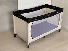 HAUCK Reisebett beige/schwarz, Baby Kinder Klappbett Bett