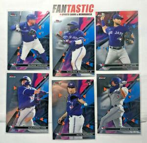 2021 Topps Finest Baseball TORONTO BLUE JAYS Base Card YOU PICK Vlad Bo etc