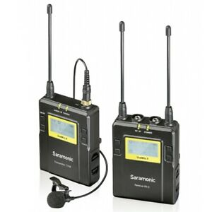 Saramonic UHF Lavalier Microphone System with 2-Channel Receiver (UWMIC9TX9RX9)