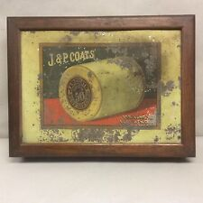 """Country Store """"J&P Coats Spool Display"""" 21.75x16.25"""