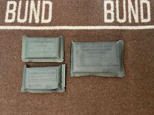Bundeswehr Verbandpäckchen 2x klein & 1x groß Brandwunde Original BW Ausrüstung