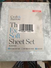 Croft And Barrow The Extra Soft Sheet Set Queen Set
