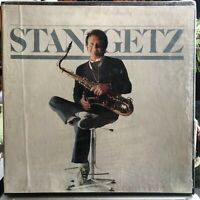 Stan Getz self titled SEALED Box Set | 1980 1st Press | 3 LPs=Mint | Box=EX