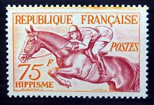 FRANCE 1953 - 75F Horse Jumping SG1190 U/M NC785