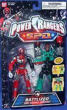 """Power Rangers SPD 6"""" RED BATTLIZED Power Ranger New Factory Sealed 2005"""