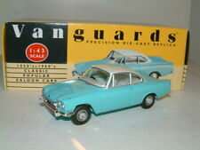 1/43 FORD CAPRI 109E IN TURQUOISE & WHITE. VANGUARDS