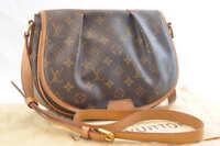 LOUIS VUITTON Monogram Menilmontant PM Shoulder Bag M40474 LV Auth 1817