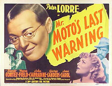 Mr. Moto's Last Warning, Charlie Chan The Trap  and The Bat - Three films on DVD