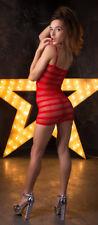 Slutty Babydoll Lingerie Bodystocking Dress Thigh High Stocking Porn Star Outfit