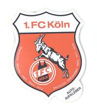 1. FC Köln Aufkleber Sticker Logo Bundesliga Fussball #329