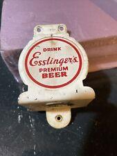 Vintage Esslingers Beer Bottle Opener Wall Mount Bar Mancave