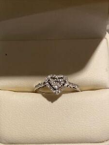 zales diamond heart ring