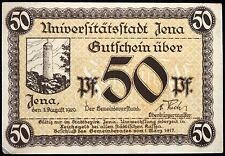 JENA 1920 50 Pf circulating German Notgeld