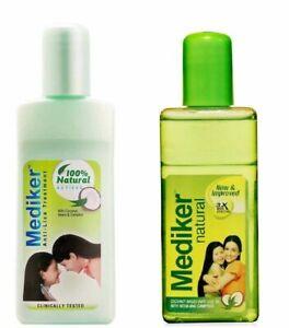 Mediker Anti Lice Treatment Shampoo/Oil With Coconut &Neem-50ml BUY BIG SAVE BIG