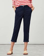 Joules Womens Hesford Cropped Chino - FRENCH NAVY