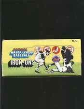 1968 FLEER IRON ON WAX BOX 24 COUNT  . LOT2334