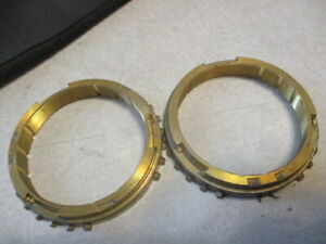 T4 T5 Sr4 1st 2nd synchronizer rings n.o.s. AMC Jeep 74 & up G.M. 82 & up non wc