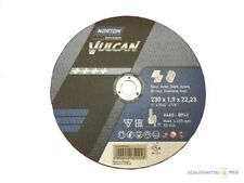 25 NORTON Vulcan Trennscheiben 230x1,9mm Metall / INOX T41 gerade Made in EU
