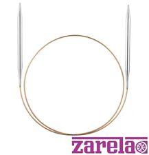 Addi Fixed Circular Knitting Needles with Silver Tips Length 20cm, 30cm, 40cm