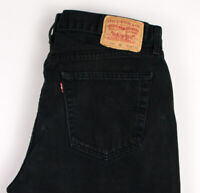 LEVI'S STRAUSS & CO Men 751 02 Straight Leg Jeans Size W36 L36 ARZ1536