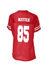 Customizebale Womens Multiple Colors Jersey, George Kittle XS-4XL New