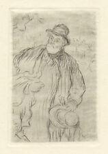 Jean-Francoise Raffaelli original etching