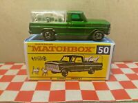 Matchbox Lesney No50  Kennel Truck   Boxed with Dogs