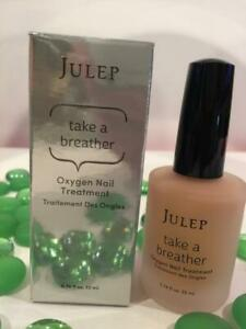 JULEP Take a Breather Oxygen Nail Treatment SHEER PEACH .74oz SUPER Size in Box!