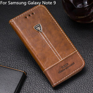 Luxury Flip Wallet Pu Leather Phone Case Back Cover For Samsung Galaxy Note 9