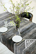 "Tablecloth Square table cloth Table cover Rustic wood 56"" x 56"" (143x143 cm)"