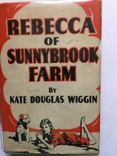 Rebecca of Sunnybrook Farm 1903 Possible 1st Grosset & Dunlap Printing