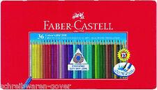 Farbstifte Colour-Grip 2001 36er Metalletui Faber-Castell Farbstift Buntstift