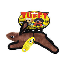 Tuffy Barnyard Brown Rabbit Tough Chewers Floats Washable