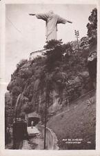 RP: RIO DE JANEIRO, Brazil, PU-1954; Corcovado, Statue of Jesus Christ